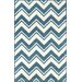 <strong>Gradient Blue / White Soni Rug</strong> by nuLOOM