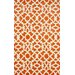 nuLOOM Cine Orange Kamran Area Rug