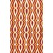 <strong>Uzbek Orange Luciano Rug</strong> by nuLOOM