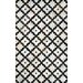 <strong>Lumen Charcoal Radash Rug</strong> by nuLOOM