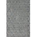 <strong>Block Island Grey Gretel Faux Rug</strong> by nuLOOM
