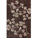 <strong>Cine Floral Vine Brown Rug</strong> by nuLOOM