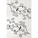 <strong>Cine Floral Vine Ivory Rug</strong> by nuLOOM