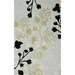 Cine Grey Fall Leaves Rug