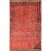 <strong>Ayers Red Washed Damask Fringe Rug</strong> by nuLOOM