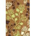 nuLOOM Cine Orange Fall Leaves Area Rug
