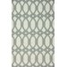 <strong>nuLOOM</strong> Flatweave Light Grey Twizzle Rug