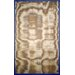 Natura Royal Blue Framed Border Rug