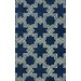 <strong>Gradient Navy Carrey Rug</strong> by nuLOOM