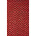 <strong>Brilliance Burnt Stripe Rug</strong> by nuLOOM