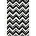 nuLOOM Gradient White/Black Sorrento Area Rug