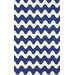 <strong>Serendipity Blue Flourish Rug</strong> by nuLOOM