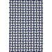 <strong>Flatweave Navy Blue Mod Houndstooth Rug</strong> by nuLOOM