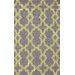 nuLOOM Homestead Yellow/Purple Heather Geometric Area Rug
