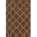 <strong>Moderna Chocolate Modern Moroccan Trellis Rug</strong> by nuLOOM