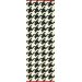 <strong>Moderna Black Border Houndstooth Rug</strong> by nuLOOM