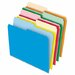 Stretch Tab File Folders, Letter, Assorted, 100/Box