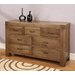 Santana Seven Drawer Chest in Rich Patina