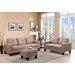 DG Casa Bradford Sofa, Loveseat and Ottoman Set
