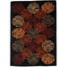 <strong>Acura Rugs</strong> Esquire Flower Multi Rug