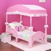 Delta Children Children's Girls Canopy for Toddler Bed