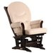 <strong>Soft Microfiber Sleigh Multi Position Recline Glider</strong> by Dutailier