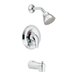 Chateau Posi-Temp Thermostatic Tub and Shower Faucet Valve with Lever Handle