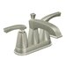 Divine Centerset Bathroom Faucet with Double Handles