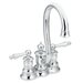 Waterhill Two Handle Centerset High Arc Bar Faucet