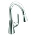 Ascent One Handle Single Hole High Arc Pull Down Bar Faucet
