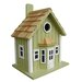 <strong>Fledgling Series Parkside Cottage Mounted Birdhouse</strong> by Home Bazaar