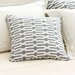 "Neutral Territory Links 18"" Decorative Pillow in Tin"