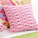 Bright Stuff Links Decorative Pillow