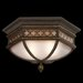 Fine Art Lamps Chateau 2 Light Outdoor Flush Mount