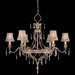 <strong>Fine Art Lamps</strong> Pastiche 6 Light Chandelier