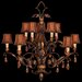 Fine Art Lamps Brighton Pavillion 10 Light Chandelier
