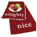 "<strong>Passion Suede ""Naughty-Nice"" Table Runner</strong> by Chooty & Co"