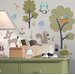 Woodland Animals Peel and Stick Wall Sticker
