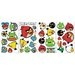 34-Piece Angry Birds Peel and Stick Wall Decal