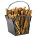 Cypher Wrought Iron Fatwood Caddy