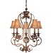 <strong>Salon Grand  Chandelier with Optional Ceiling Medallion</strong> by Minka Lavery