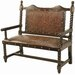 <strong>Colonial Solomon Wooden Bench</strong> by New World Trading