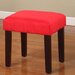 <strong>InRoom Designs</strong> Square Child Vanity Stool