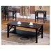 <strong>InRoom Designs</strong> 3 Piece Coffee Table Set