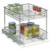 """<strong>Glidez 14.5"""" Two Tier Sliding Organizer KD</strong> by Household Essentials"""