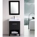 "New York 24"" Contemporary Bathroom Vanity Set"