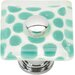 "<strong>Atlas Homewares</strong> Glass 1.5"" Emarld Polka Dot Round Knob"