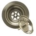 Kitchen Sink Strainer with Spring Loaded Center Post