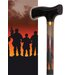 <strong>Band of Brothers Single Point Cane</strong> by Rebel Canes