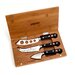 Wusthof Classic 4 Piece Bamboo Cheese Knife Set